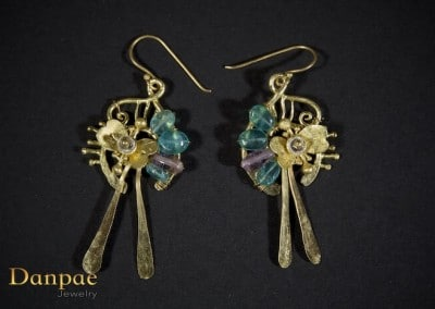 Danpae Jewelry - Handmade art earrings 15