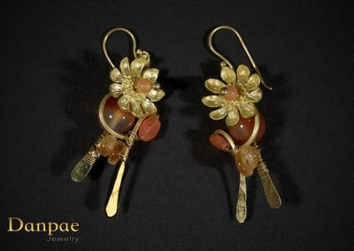 Danpae Jewelry - Handmade art earrings 16