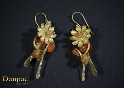 Danpae Jewelry - Handmade art earrings 18
