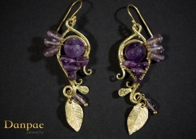 Danpae Jewelry - Handmade art earrings 19