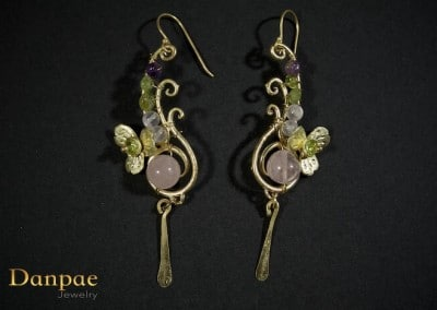 Danpae Jewelry - Handmade art earrings 26