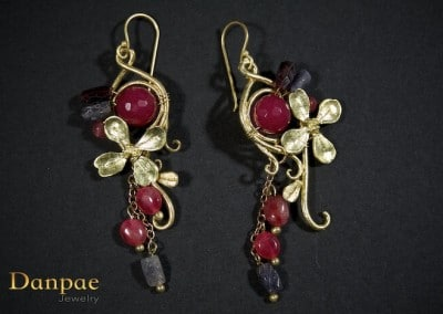 Danpae Jewelry - Handmade art earrings 27