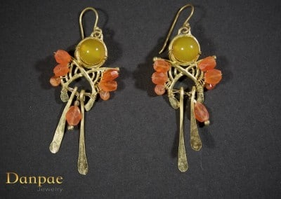 Danpae Jewelry - Handmade art earrings 28