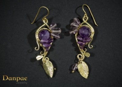 Danpae Jewelry - Handmade art earrings 29