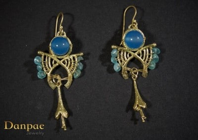 Danpae Jewelry - Handmade art earrings 31