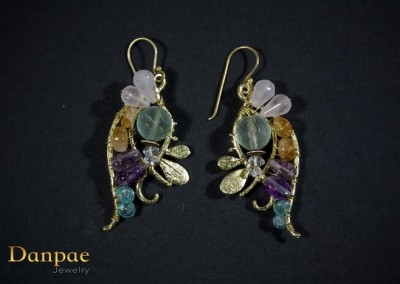 Danpae Jewelry - Handmade art earrings 32