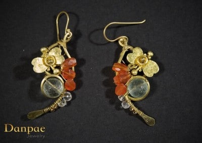 Danpae Jewelry - Handmade art earrings 33