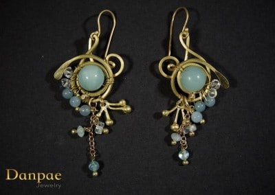 Danpae Jewelry - Handmade art earrings 34