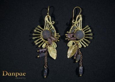 Danpae Jewelry - Handmade art earrings 35
