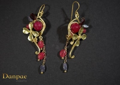 Danpae Jewelry - Handmade art earrings 36