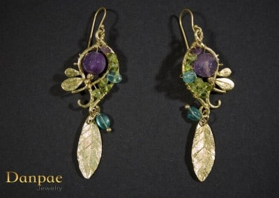 Danpae Jewelry - Handmade art earrings 37
