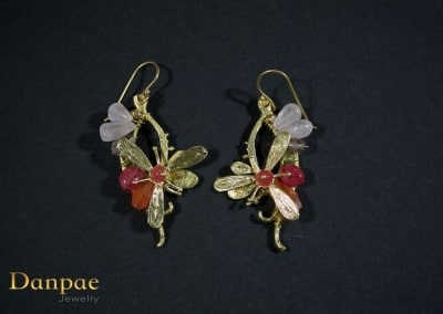 Danpae Jewelry - Handmade art earrings 38