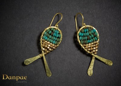 Danpae Jewelry - Handmade art earrings 4