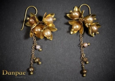 Danpae Jewelry - Handmade art earrings 5