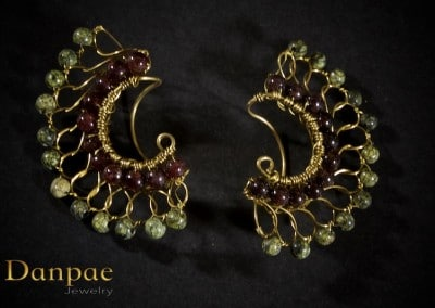 handmade art earrings by danpae jewelry 11
