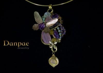 handmade art necklace by danpae jewelry 5